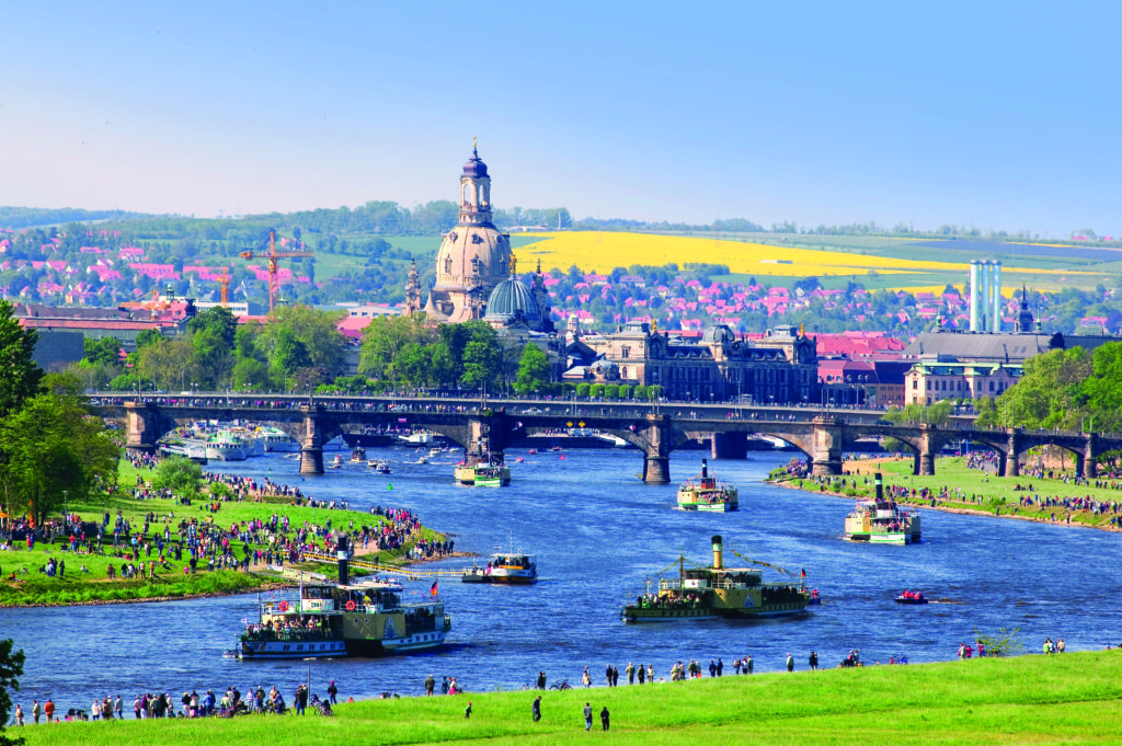 Dresden: planning for multimodality and measuring the results