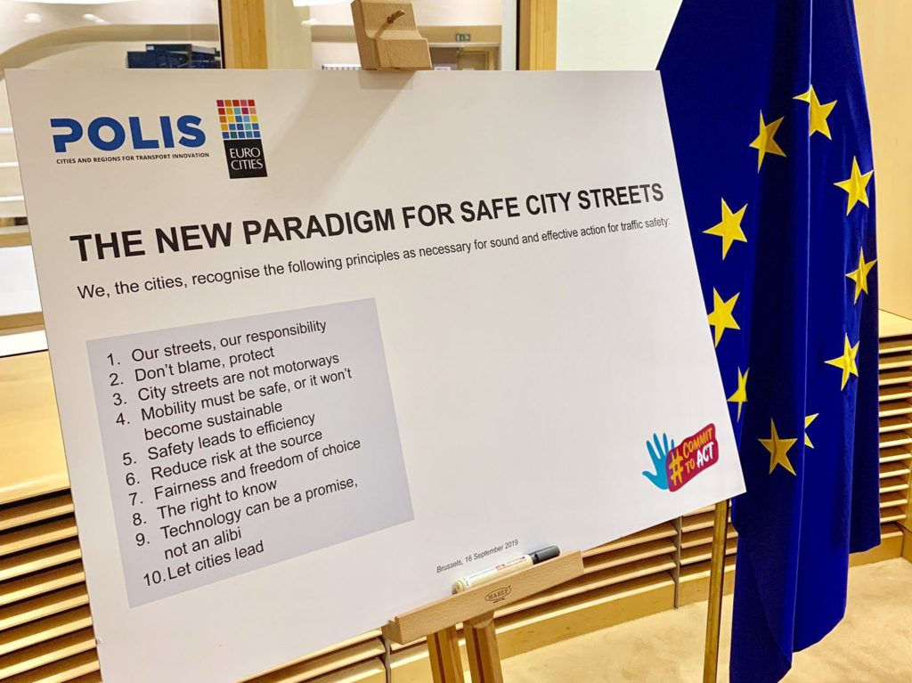 """City Declaration: """"The New Paradigm for Safe City Streets"""""""
