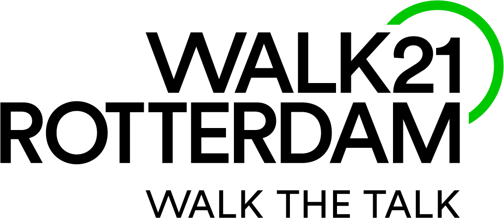 "Join the international pedestrians' conference Walk21 Rotterdam ""Walk the Talk"""