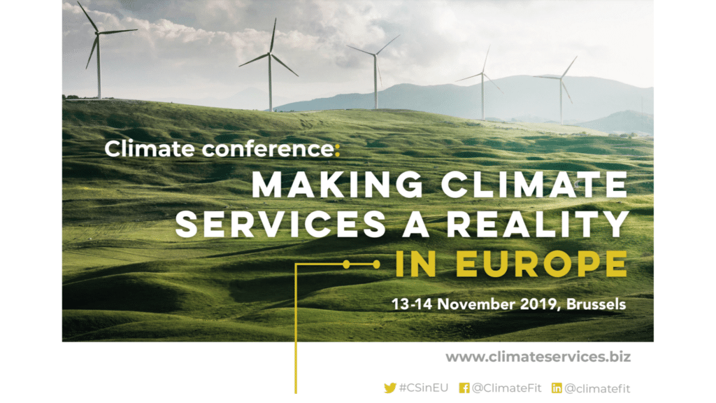 Making Climate Services a Reality in Europe 2019
