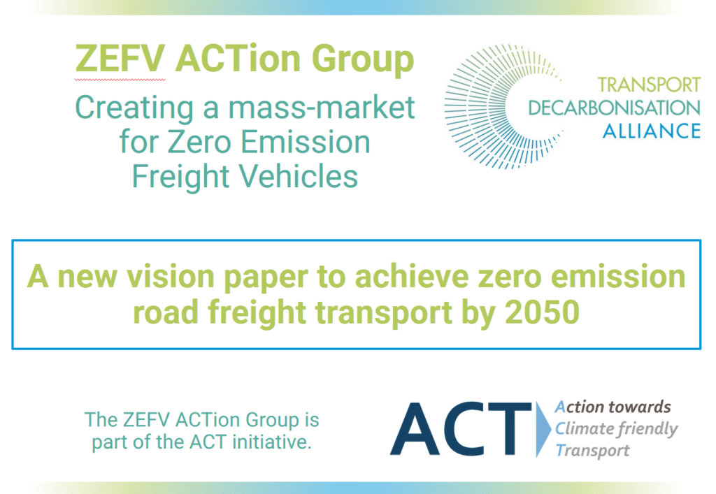 Scaling up the mass market for zero-emission freight vehicles