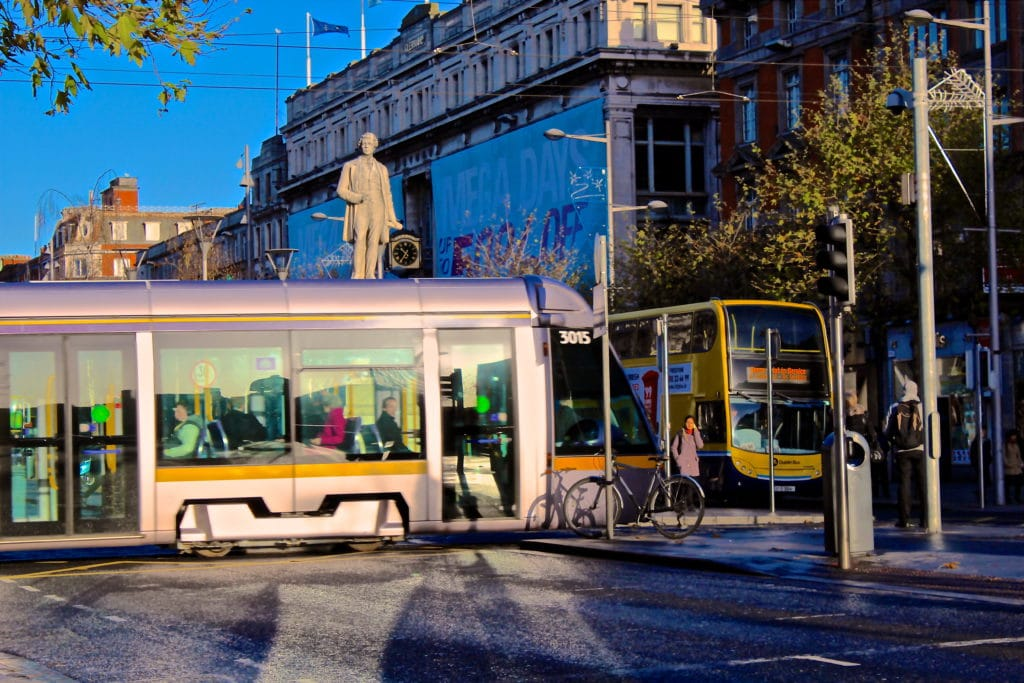 Dublin cuts parking space to prioritise pedestrians
