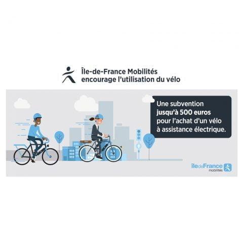 Île-de-France Mobilités offers 500 euros e-bike purchase incentive