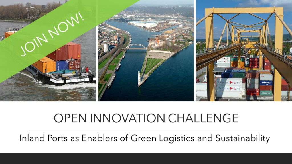 Open Innovation Challenge: Ideas welcomed for inland ports to act on climate