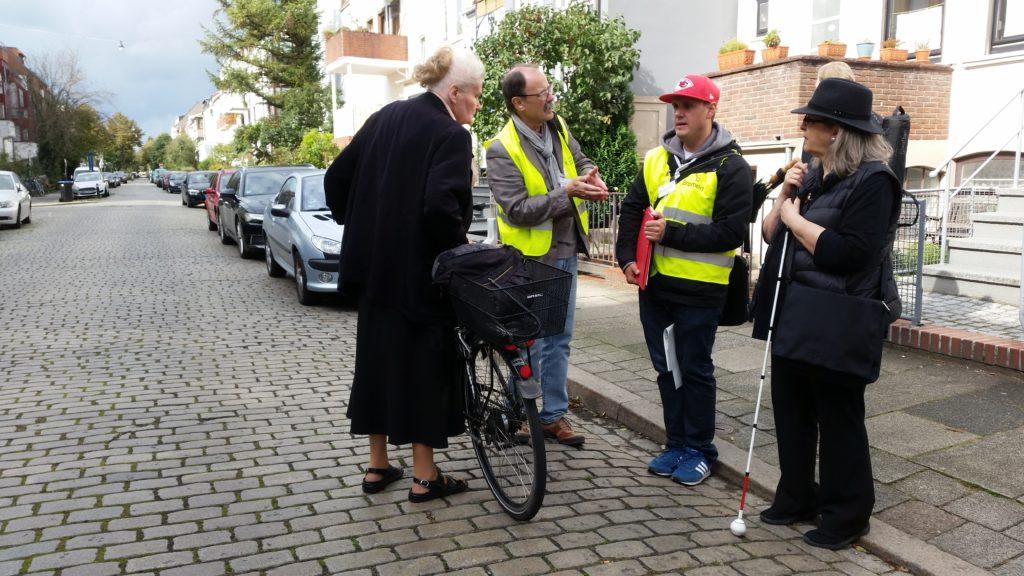 SUNRISE takes you through a neighbourhood in Bremen