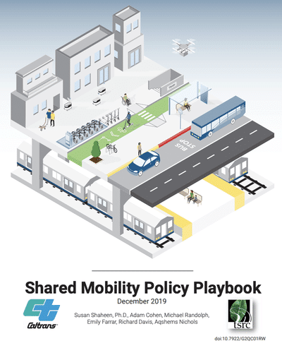 Berkeley ITS publishes Shared Mobility Policy Playbook