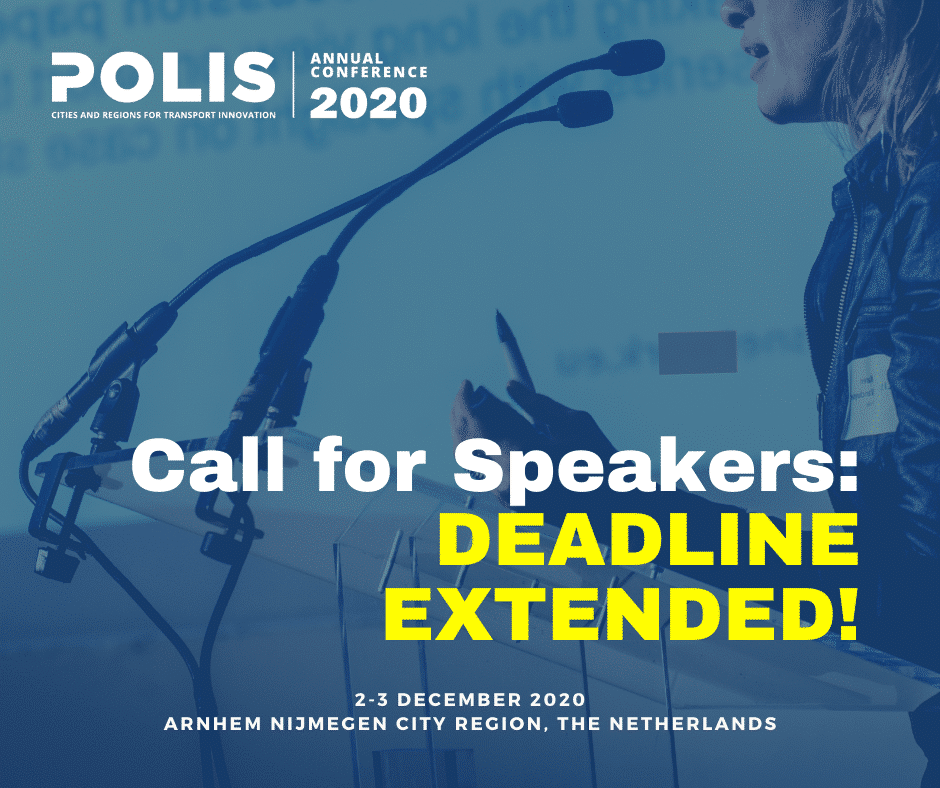 Polis Conference 2020: Call for Speakers announced!