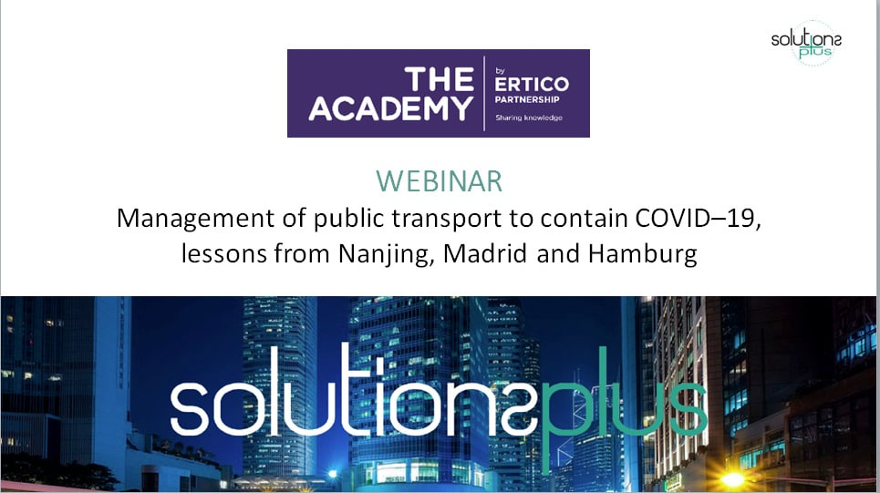 SOLUTIONSplus webinar: Management of public transport to contain COVID-19