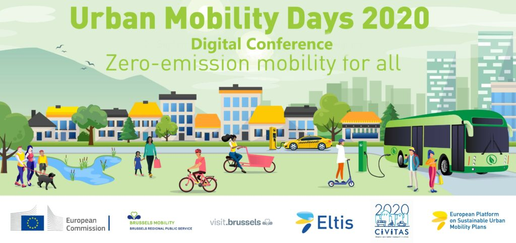Urban Mobility Days Conference to be held as a digital event