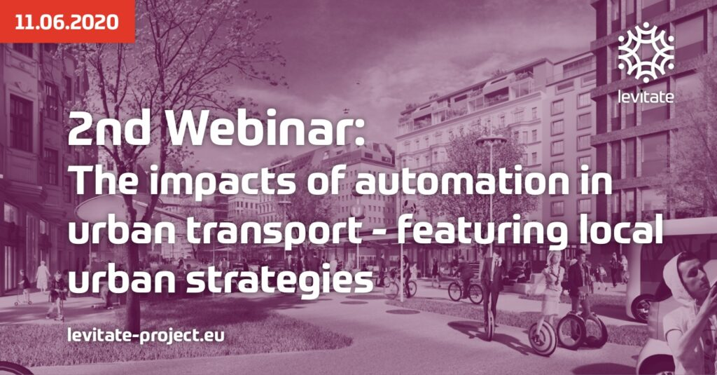LEVITATE webinar on the impacts of automation in urban transport