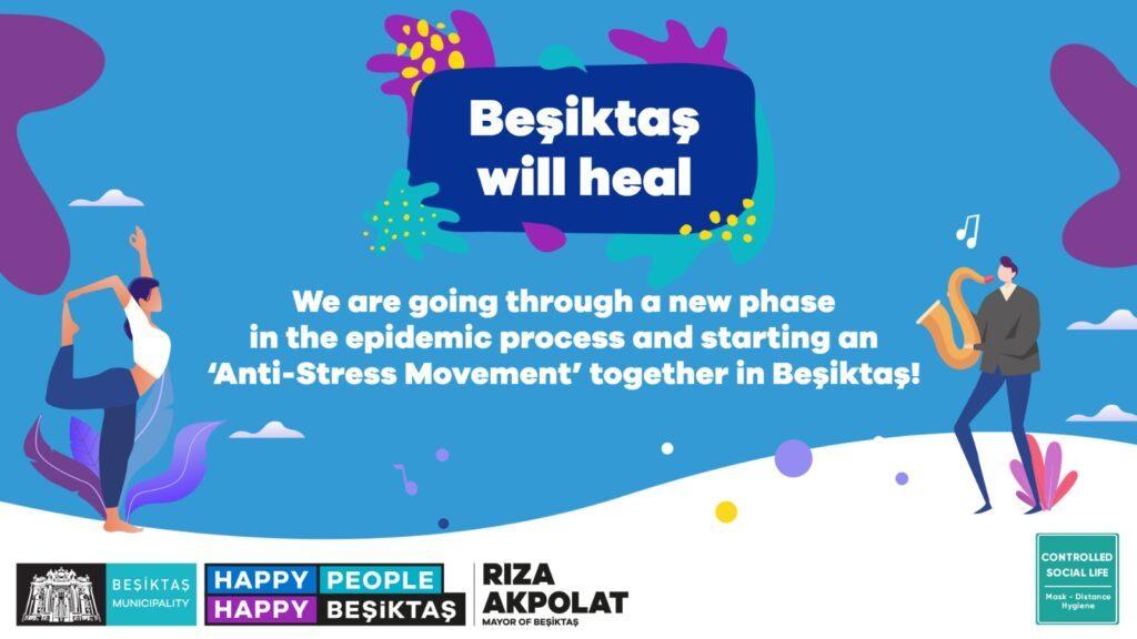 Beşiktaş launches new anti-stress campaign