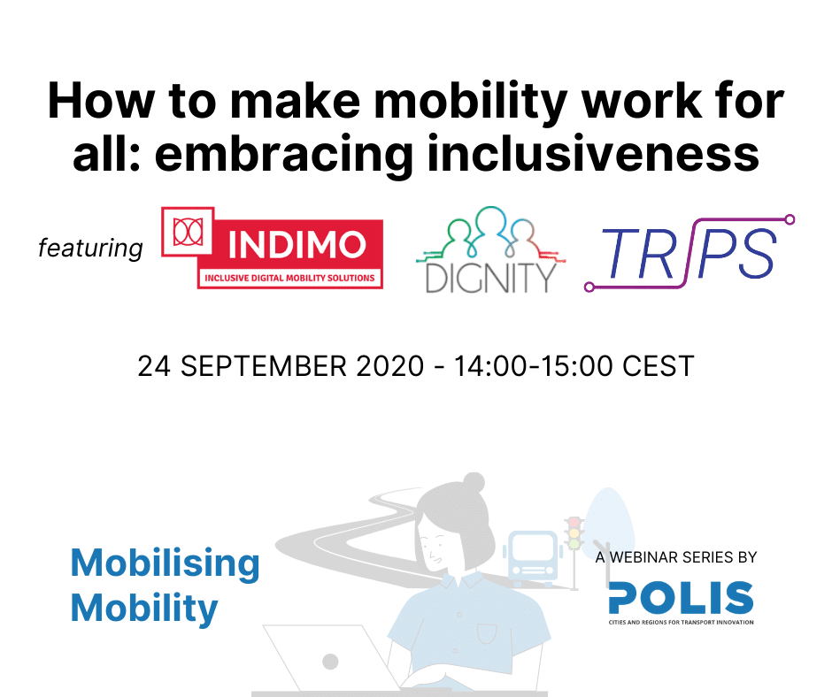 Mobilising Mobility: How to make mobility work for all – embracing inclusiveness
