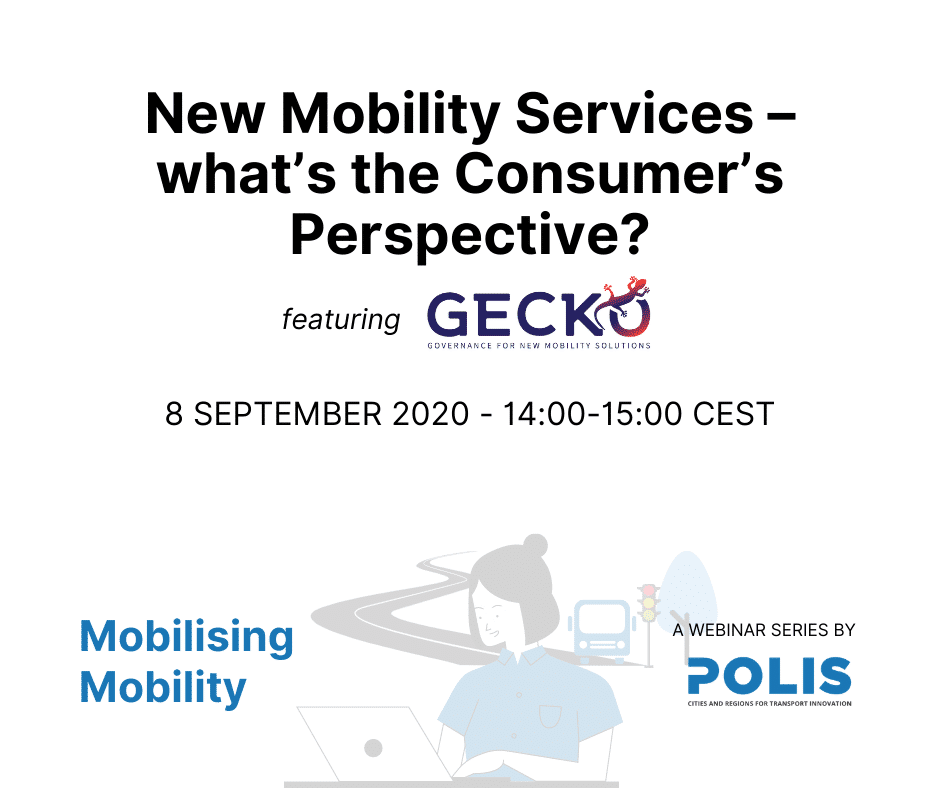 Mobilising Mobility: New Mobility Services – what's the Consumer's Perspective?