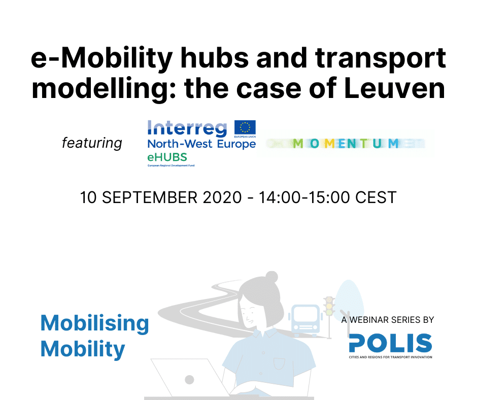 eHUBS and transport modelling: the case of Leuven – Webinar report