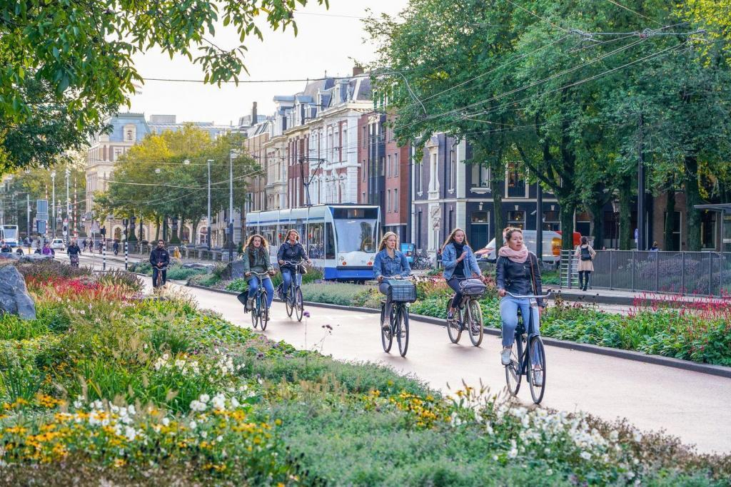 Gear and Now: Amsterdam's Pedal-Driven Future