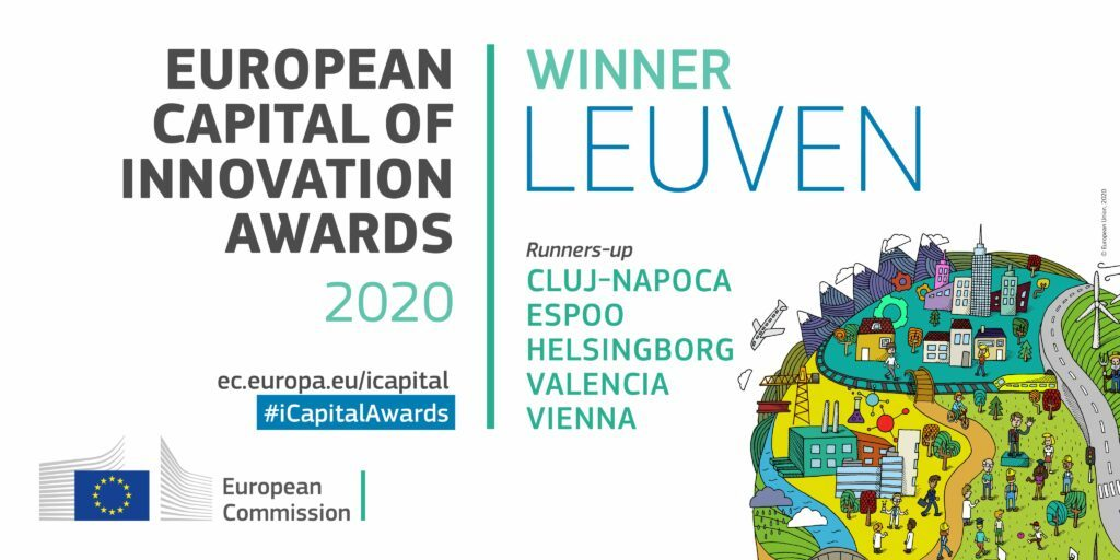 Leuven is the European Capital of Innovation 2020