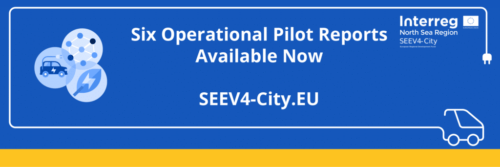Explore the wealth of insights from 6 final analysis reports on Smart Charging and V2X pilots from SEEV4City!