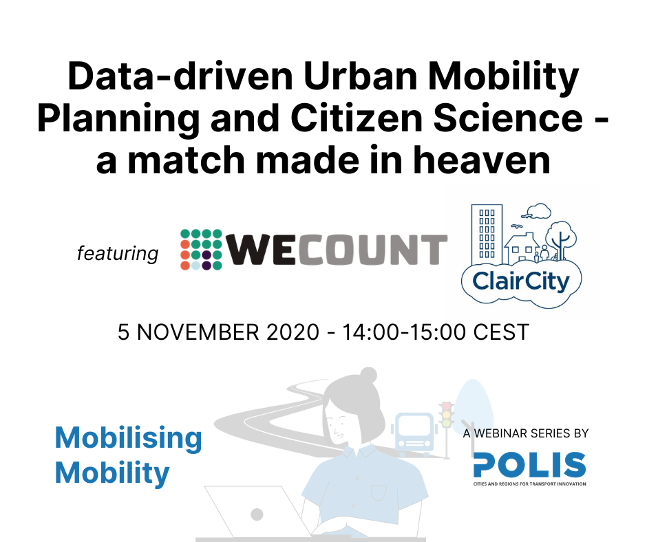 Mobilising Mobility: Data-driven Urban Mobility Planning and Citizen Science – a match made in heaven