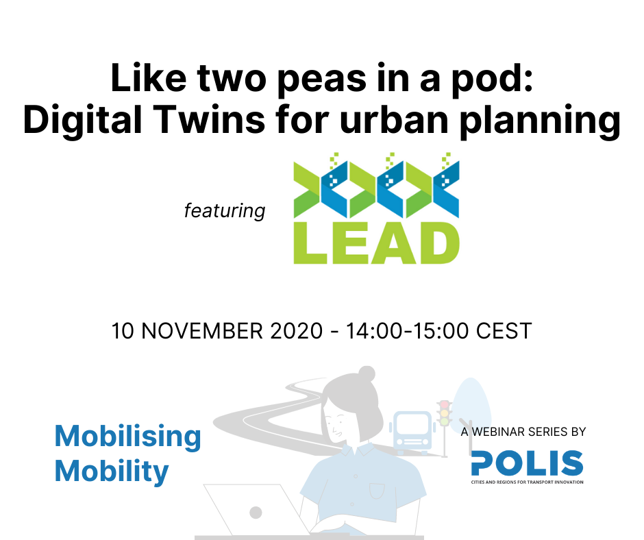 Mobilising Mobility: Like two peas in a pod – Digital Twins for urban planning