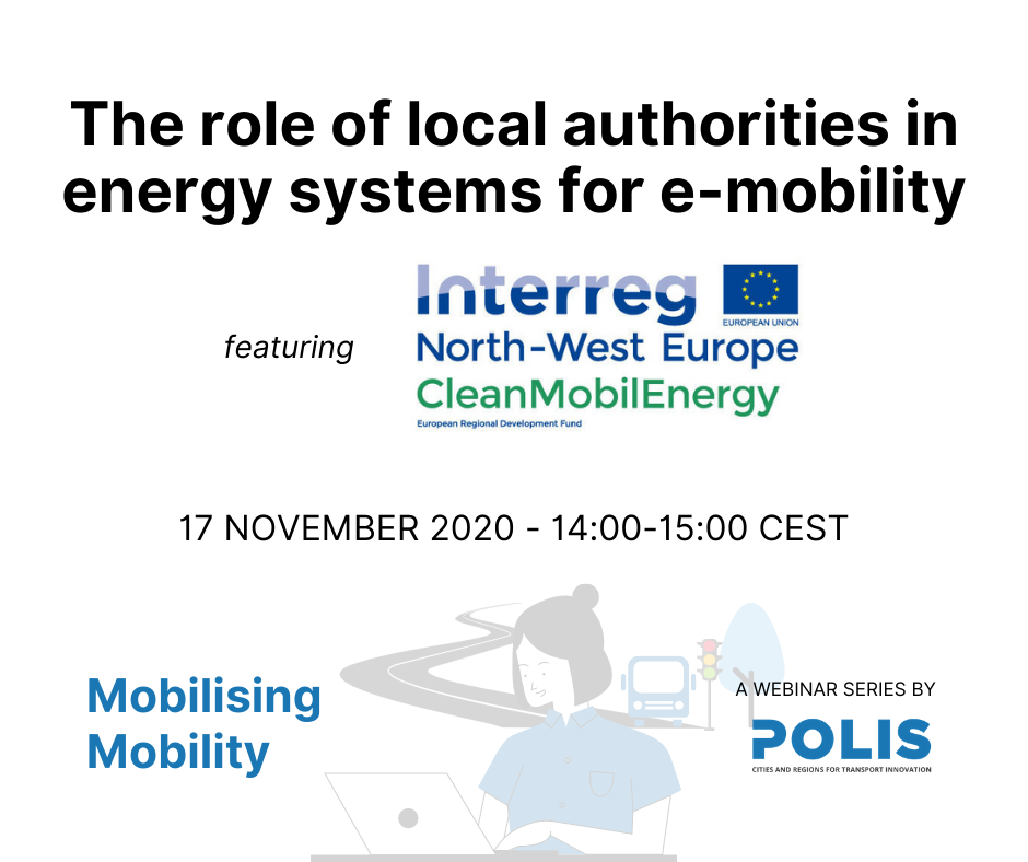 The role of local authorities in energy systems for e-mobility