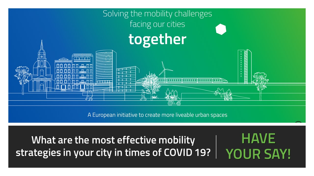 EIT Urban Mobility survey on effects of the pandemic on urban mobility systems