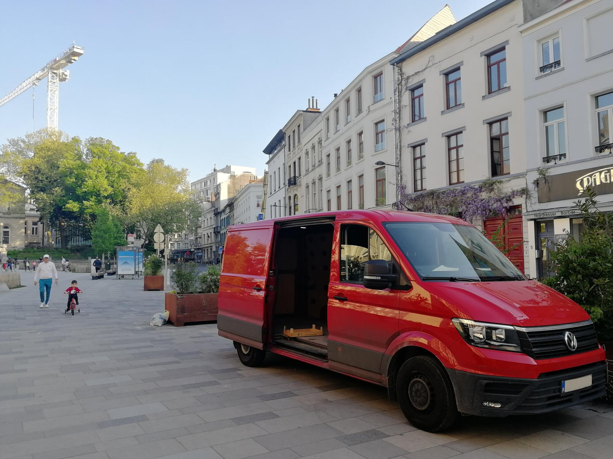 Upcoming workshops on urban freight: zero-emission and kerbside management