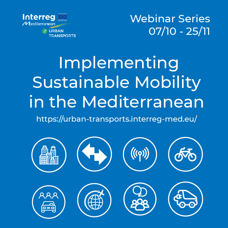 Implementing Sustainable Mobility in the Mediterranean: join Urban Transport Community's webinars