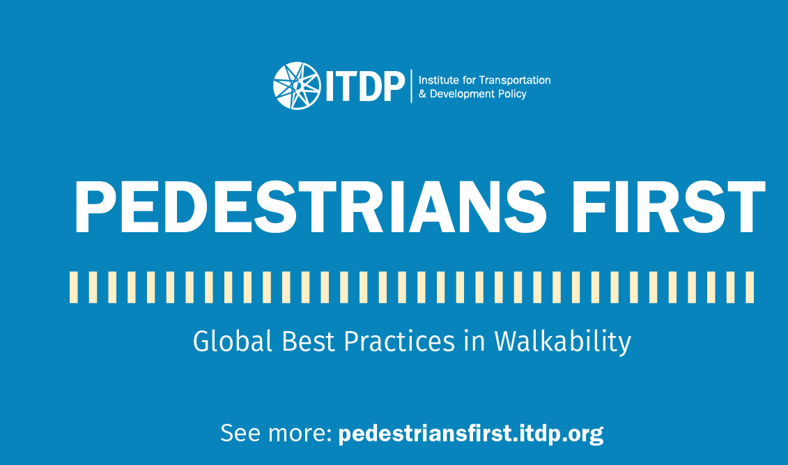 ITDP Tool provides Global Analysis of Walkability