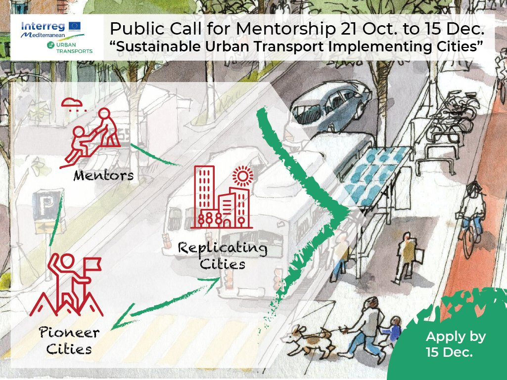 "Apply for the Public Call for ""Sustainable Urban Transport Implementing Cities""!"