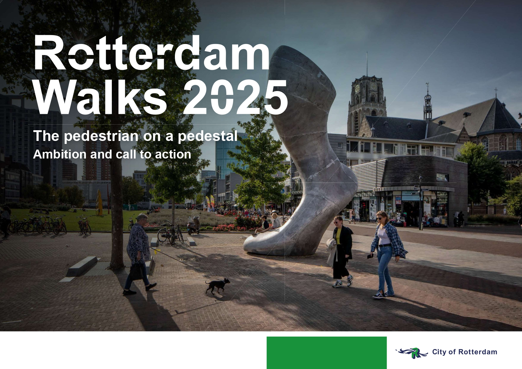 Rotterdam launches Walking Strategy