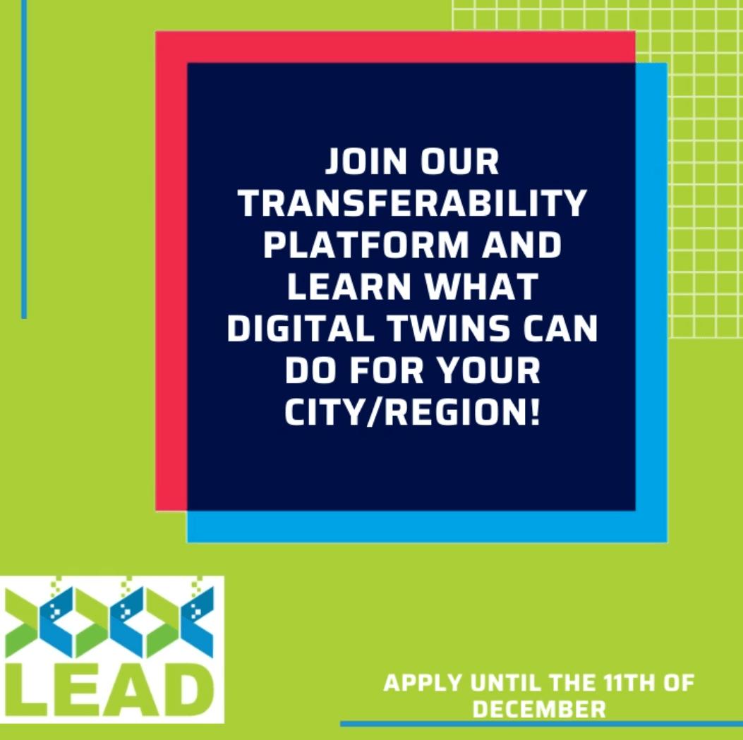 Digital twins for urban logistics planning: join the LEAD Transferability Platform!