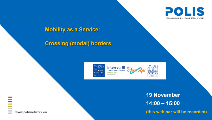 Crossing (modal) borders: a webinar taking Maas global