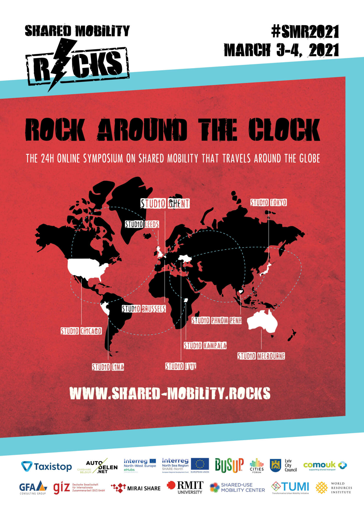 Shared Mobility Rocks – Rock around the clock