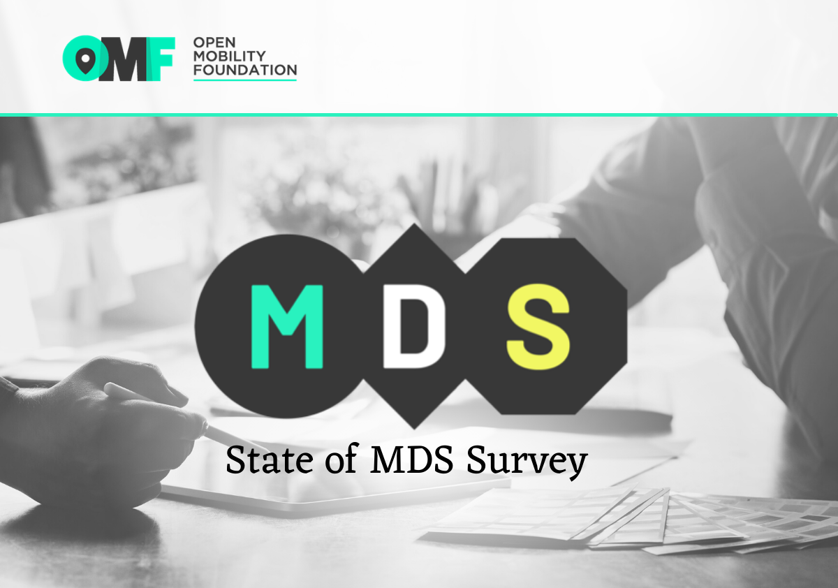 OMF opens Mobility Data Specification survey