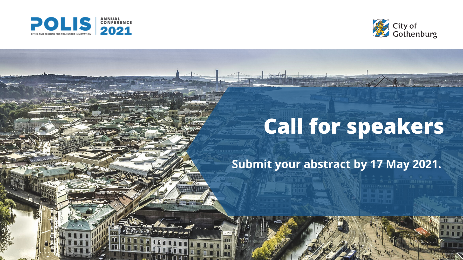 POLIS Conference 2021: Call for speakers