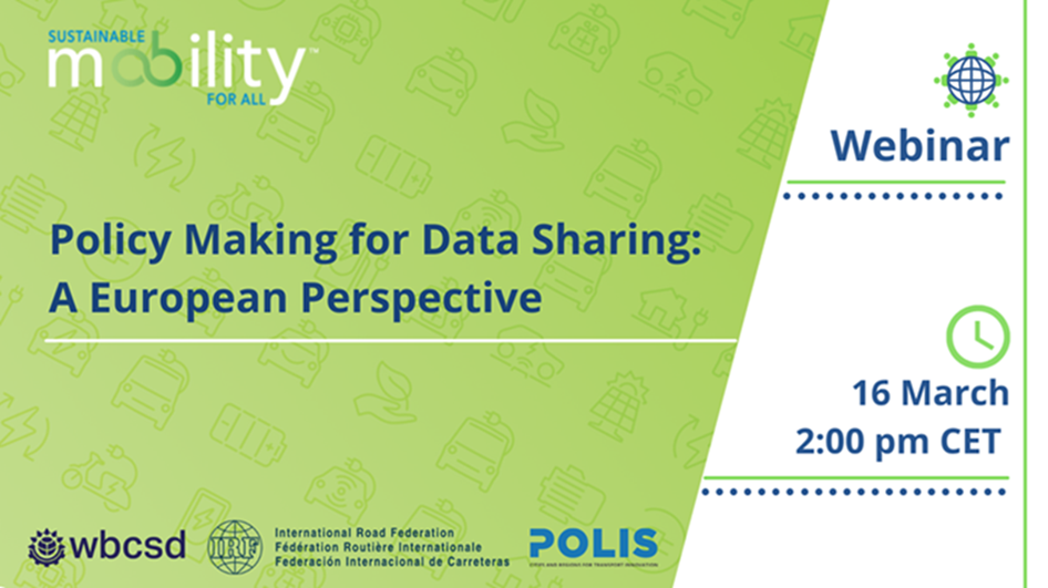 Policy Making for Data Sharing – A European and Local Perspective