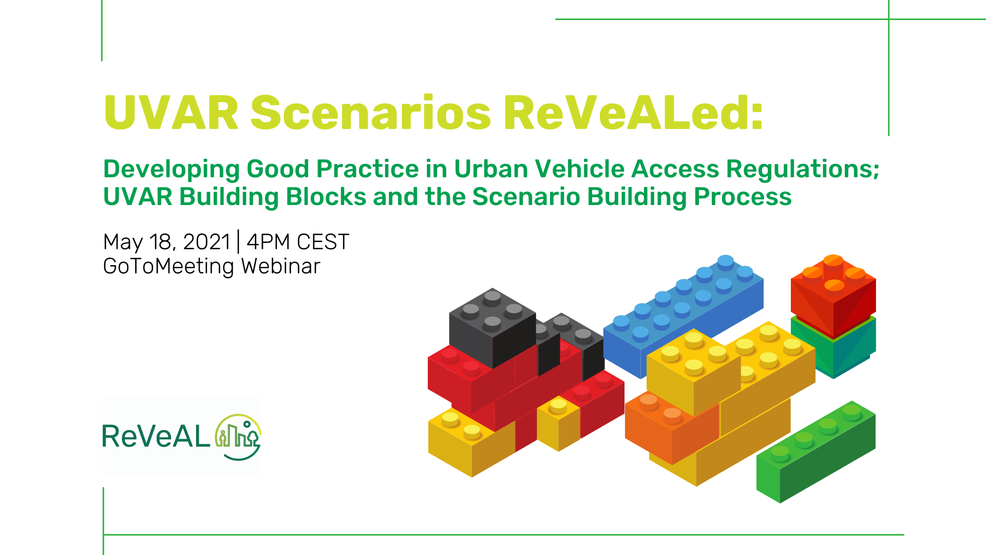 ReVeAL Webinar: UVAR Scenarios ReVeALed