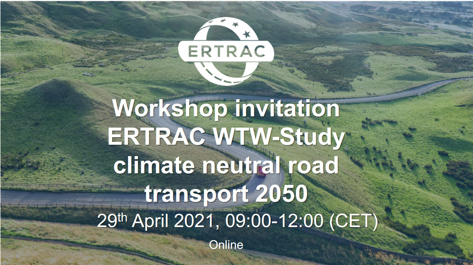ERTRAC workshop on climate-neutral road transport by 2050