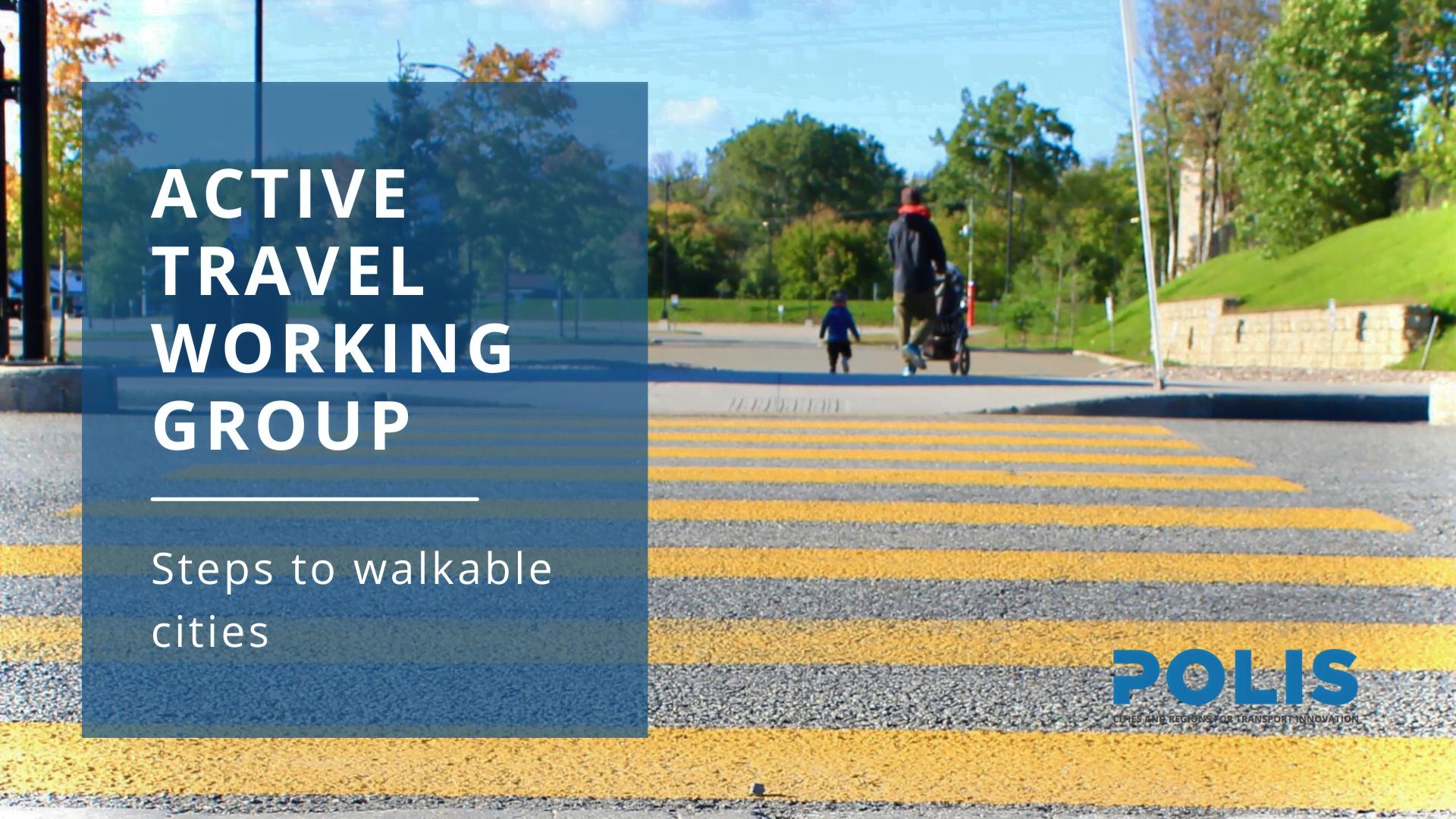 A walk through walkability