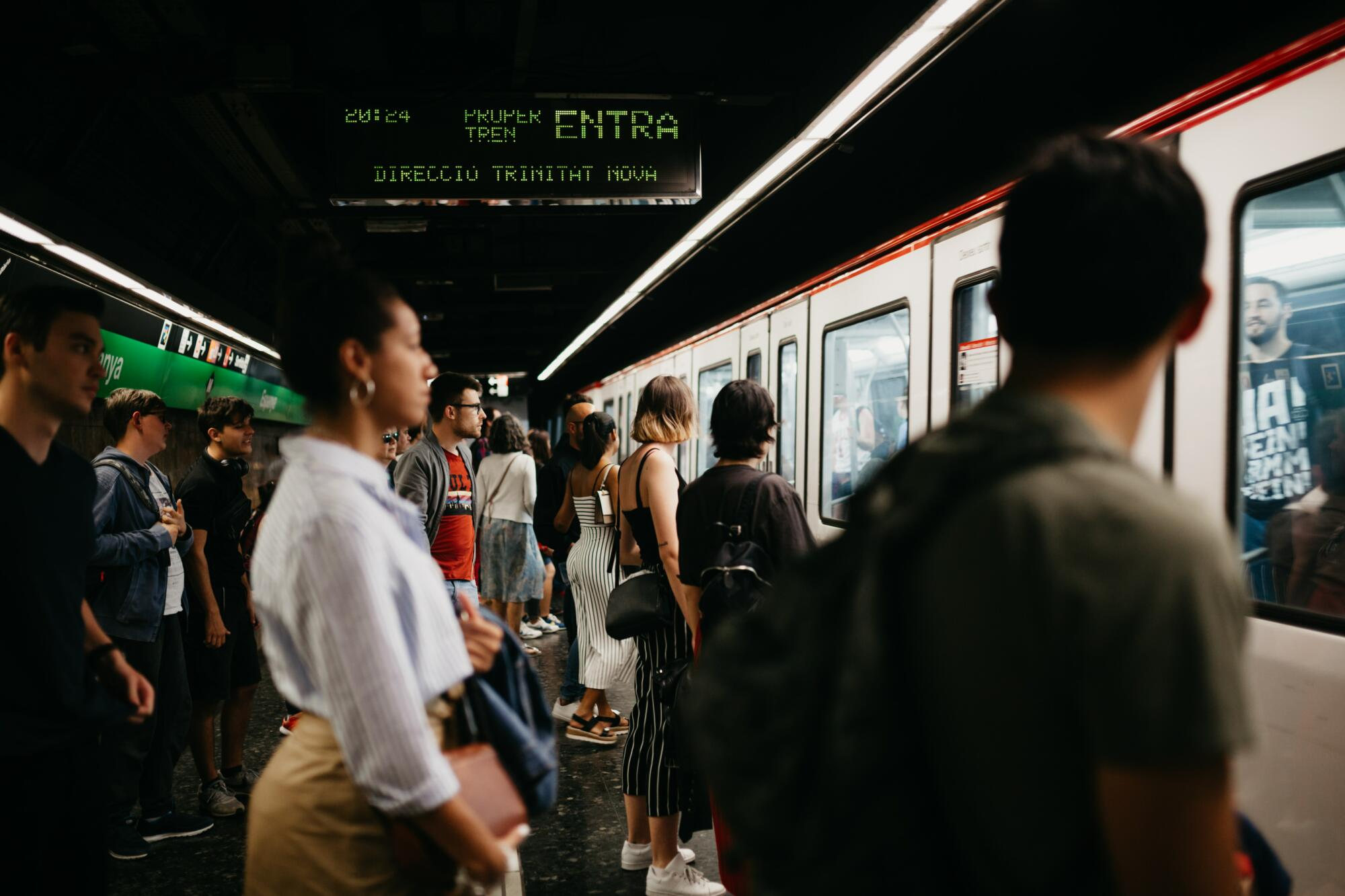 Research reveals harassment on Barcelona's public transport