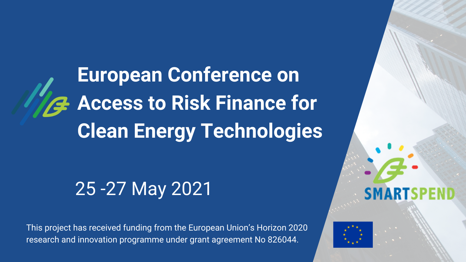 EU Conference on Access to Risk Finance for Clean Energy Technologies
