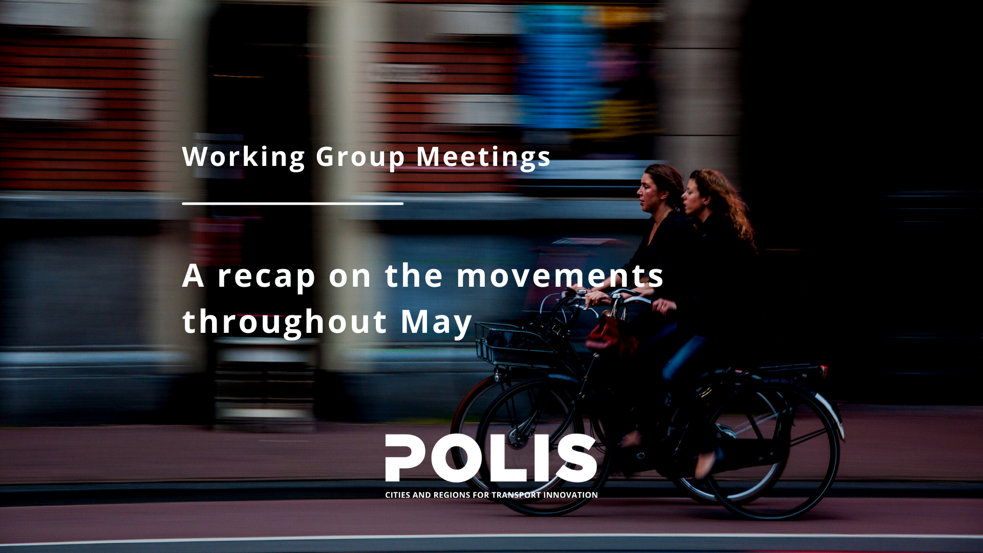 May's Working Group meetings: It's always sunny in sustainability