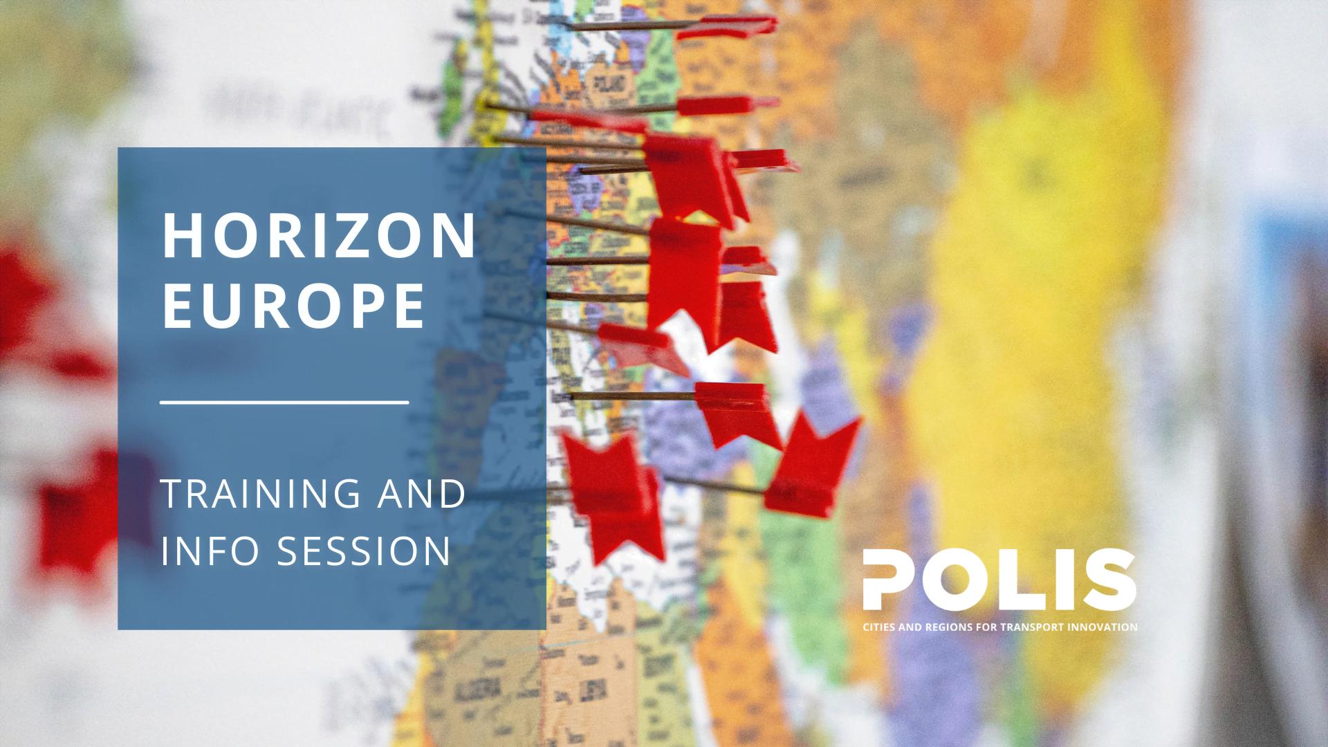 Horizon Europe: POLIS' one-stop-mobility-shop