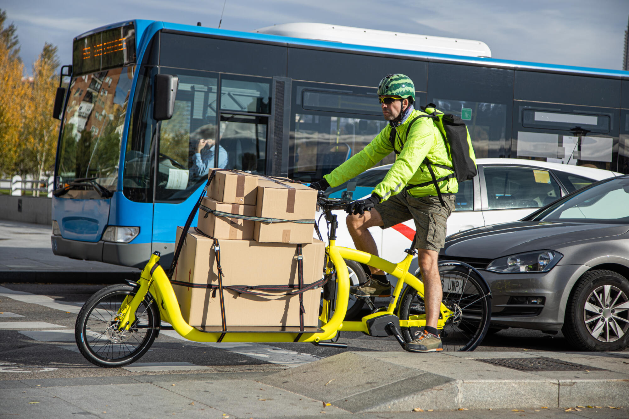 MOVE21: European cities lead transition to zero-emission transport in urban areas
