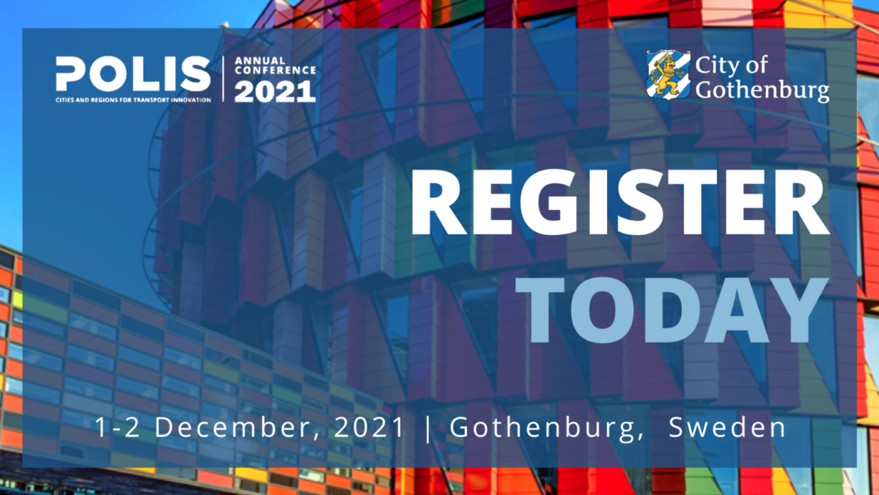 Registration is open for the POLIS Conference 2021