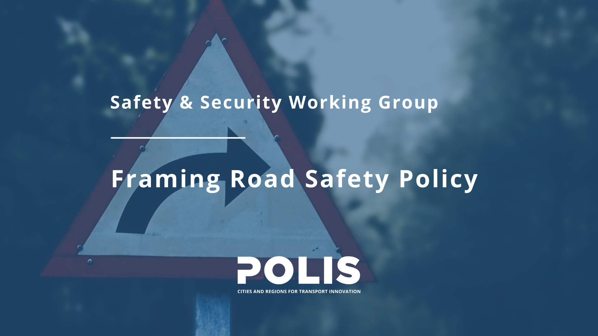 Safety & Security Working Group: Framing Road Safety Policy