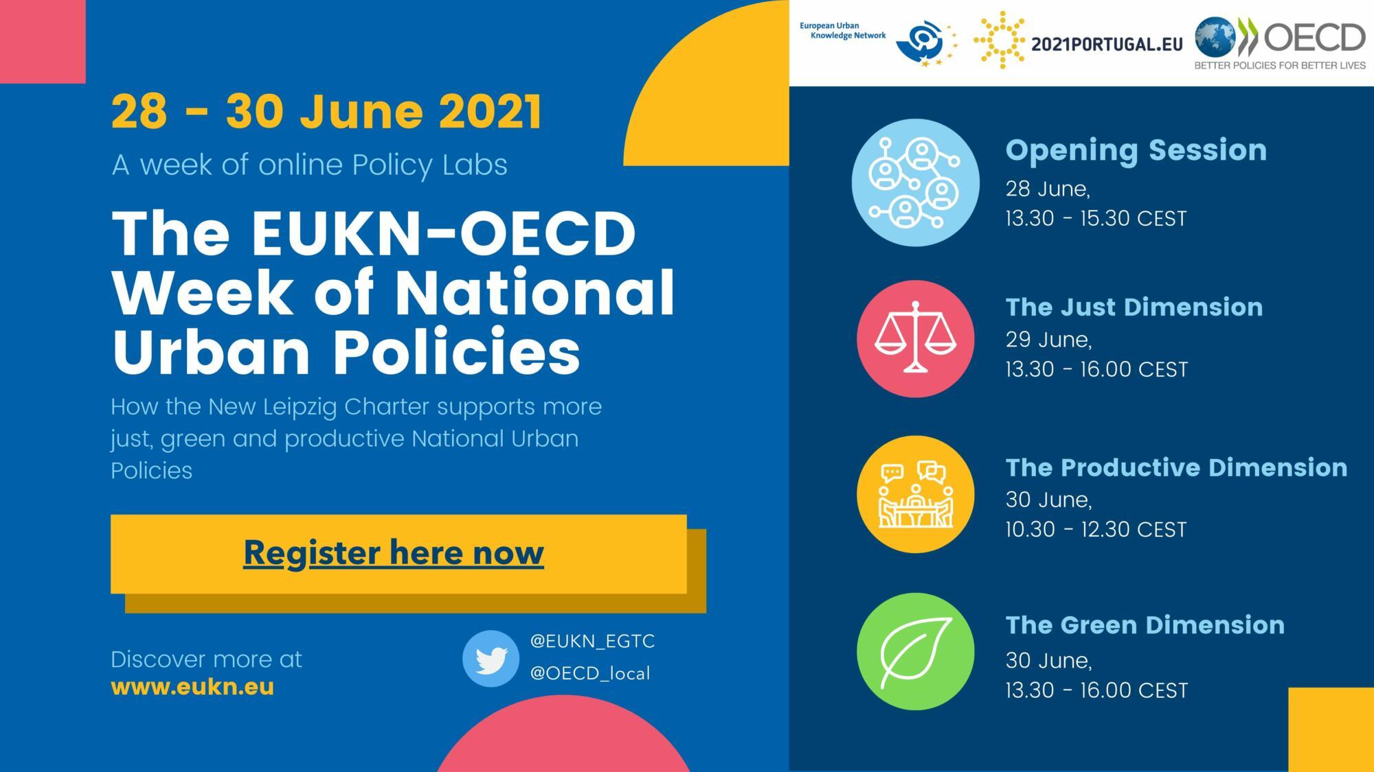 Join the EUKN-OECD Week of National Urban Policies (NUPs)