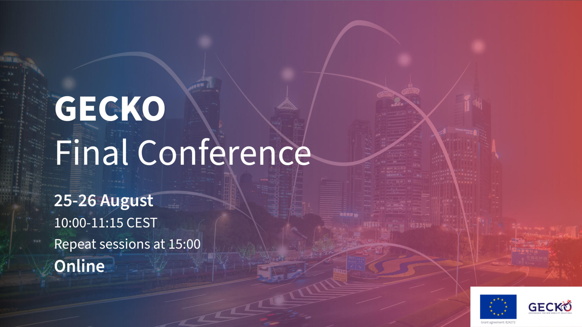 Transition to a new mobility era: join GECKO's final conference