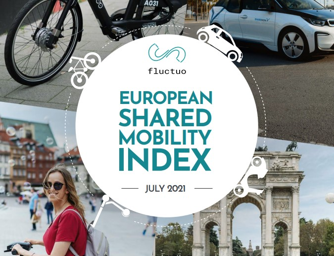 A look at the European Shared Mobility Industry: Fluctuo's latest Index