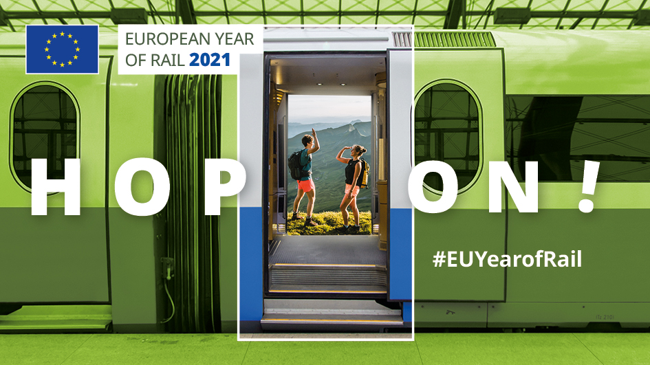 Regions and Urban Nodes contributing to the European Year of Rail